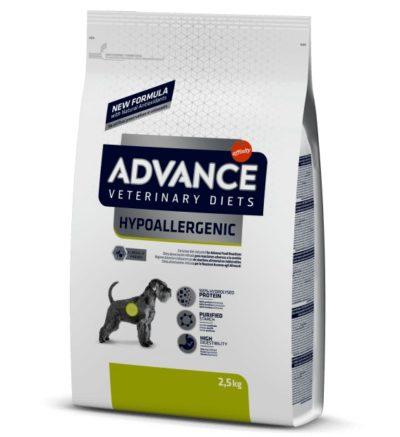 advance hypoallergenic υποαλλεργικη κλινικη διαιτα σκυλων με τροφικες αλλεργιες