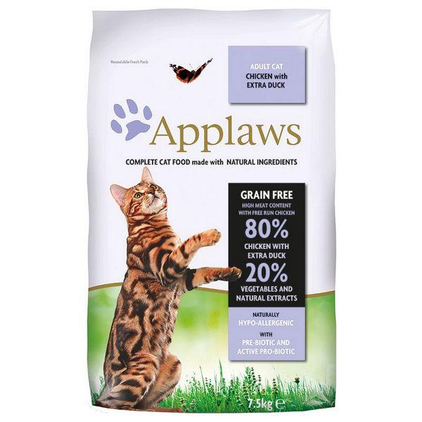 applaws chicken duck τροφή για γατες grain free