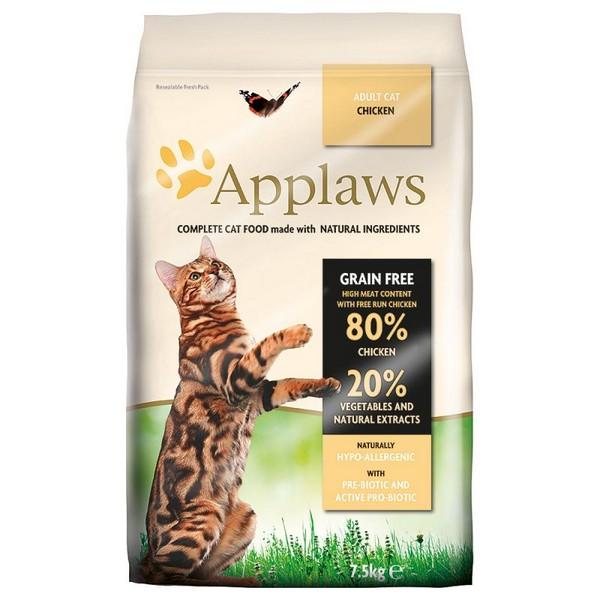 τροφες γατας applaws chicken adult grain free με κοτόπουλο