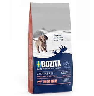 ΗBozita Grain Free τροφες για κουταβια & εγκυες θηλαζουσες θηλυκες