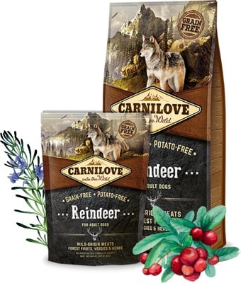 τροφη σκυλου carnilove reindeer ολιστικη grain free