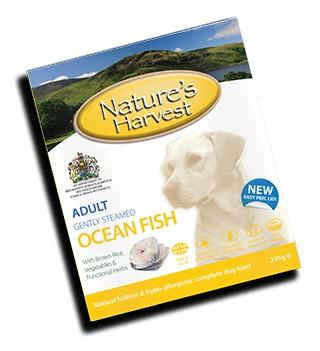 natures harvest κονσερβα σκυλων με ψαρι
