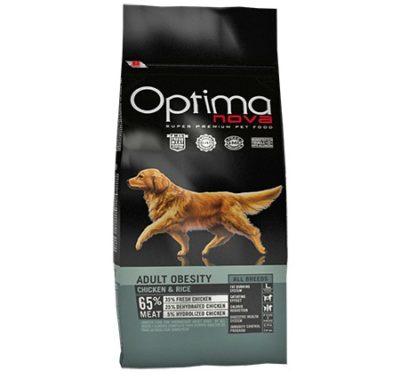 Τροφη σκυλου Optimanova Obesity για αδυνατισμα σκυλων με παχυσαρκια
