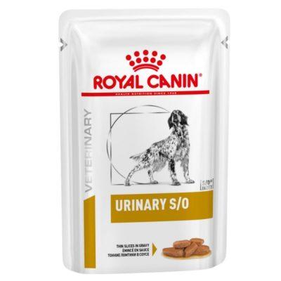 Royal Canin Urinary υγρη τροφη σκυλου κλινικη διαιτα για ουρολιθους διαλυση στρουβιτη
