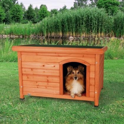 trixie natura classic ξυλινα σπιτακια για σκυλους
