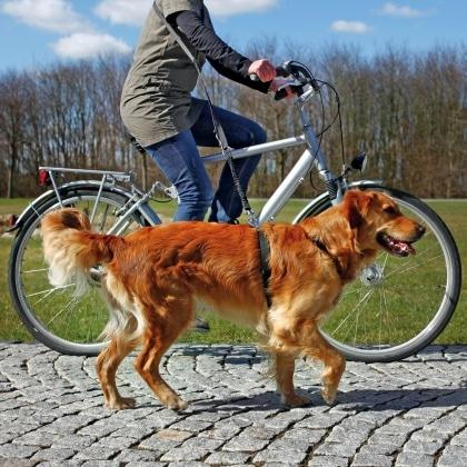 Trixie λουρι για σκυλους οδηγος για ποδηλατο τζοκινγκ