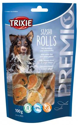σνακ σκυλων λιχουδια Premio με σουσι