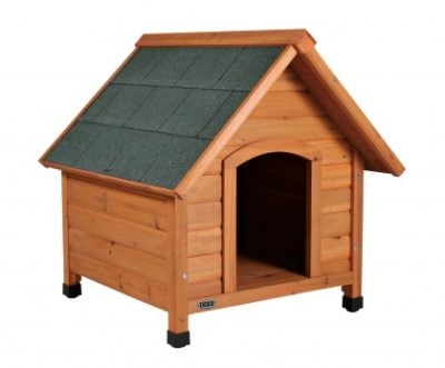 ξυλινα σπιτακια σκυλων Trixie cottage Natura με κυρτή στέγη