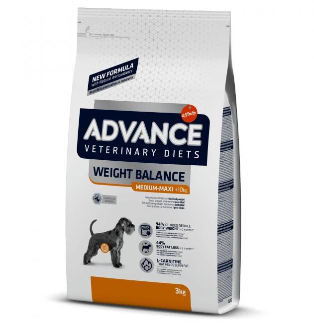 advance obesity κλινικη διαιτα ειδικη τροφη σκυλου για αδυνατισμα
