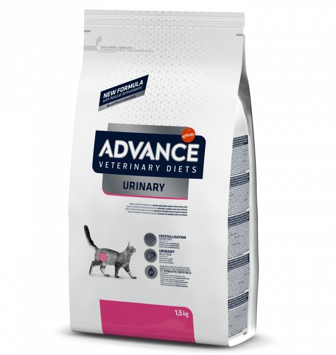 Advance τροφη γατας κλινικη διαιτα Urinary για την προληψη ουρολιθιασης