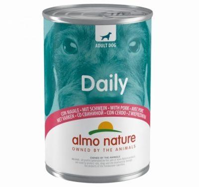 Almo Nature Daily κονσερβα σκυλου με χοιρινο