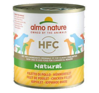ΗAlmo Nature HFC κονσερβα σκυλων κοτοπουλο Gluten Free μονοπρωτεινικη