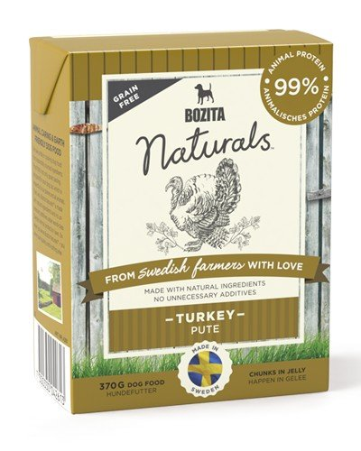 Bozita Naturals Turkey κονσερβα σκυλου με γαλοπουλα