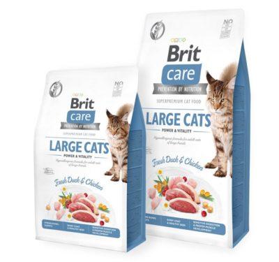 Brit Care Large Cat τροφη για μεγαλη γατα Grain Free
