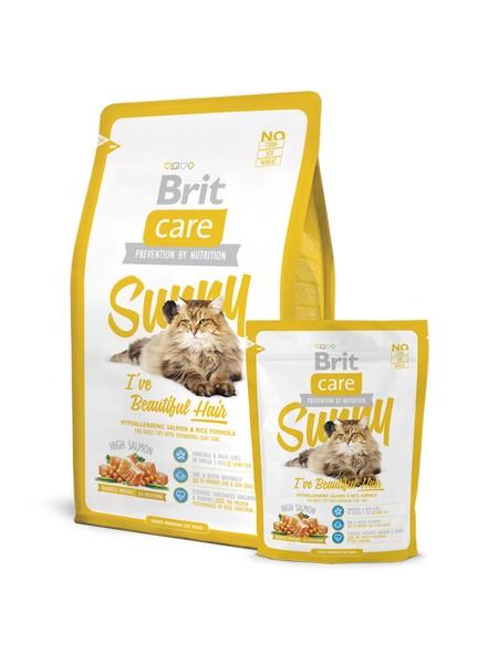 Brit Care Beautiful Hair superpremium υποαλλεργικη τροφη γατας - λαμπερο τριχωμα