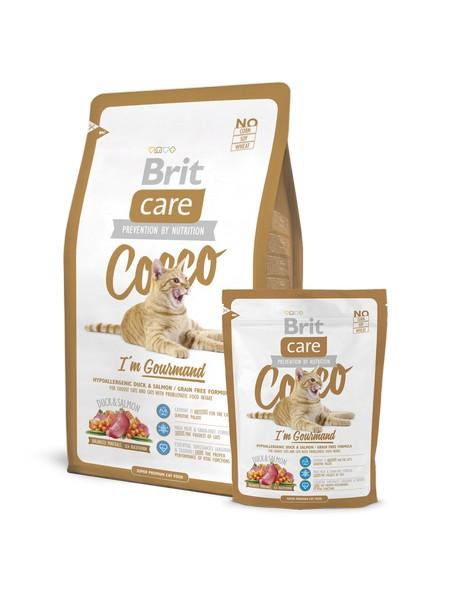 brit care gourmand υποαλλεργικη grain free τροφη γατας