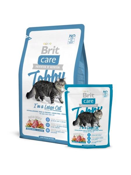 Η τροφη για μεγαλη γατα σε μεγεθος Brit Care Large Cat