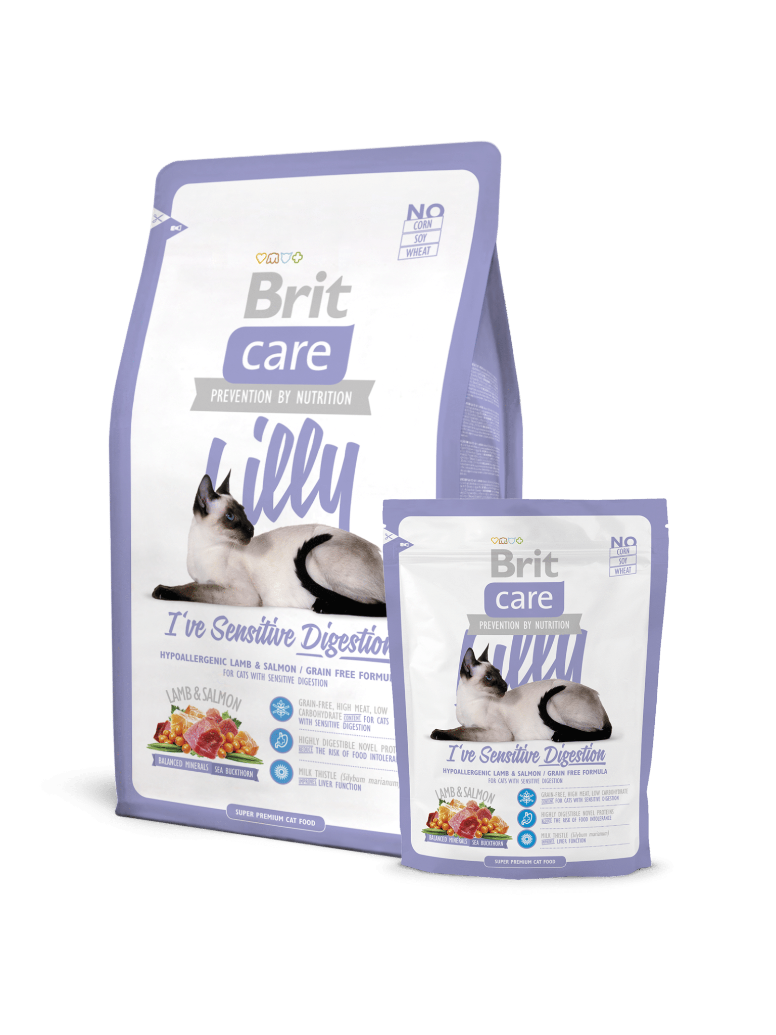brit care sensitive digestion superpremium υποαλλεργικη τροφη για γατα με ευαισθησια