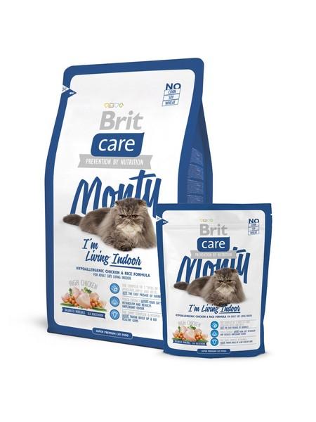 superpremium υποαλλεργικη τροφη για γατα που ζει στο σπιτι Brit Care Indoor Living