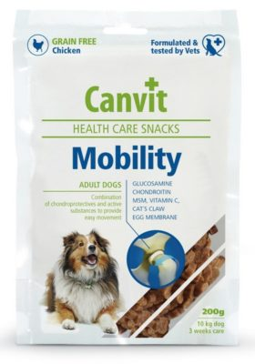 canvit mobility snack σνακ σκυλων με προβλημα κινητικοτητας