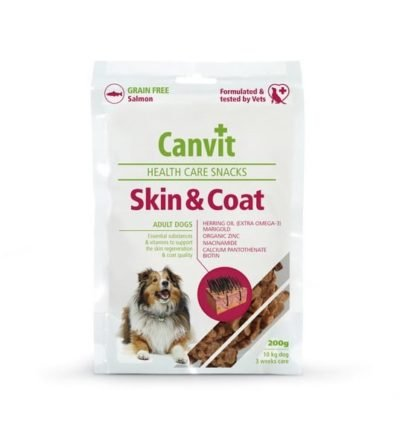 Canvit Skin Coat snack - σνακ σκυλων για το δερμα και το τριχωμα