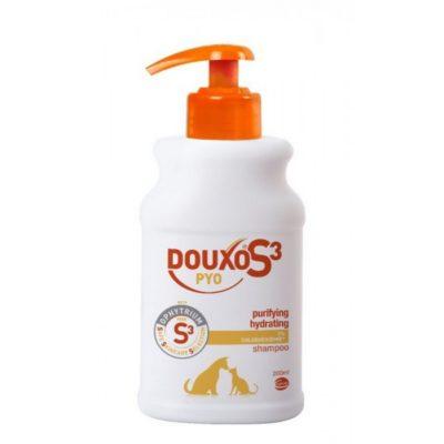 φαρμακευτικο σαμπουαν σκυλων και γατα Douxo pyo Chlorhexidine