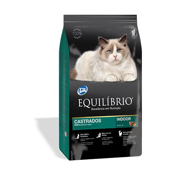 Equilibrio Castrated Mature τροφη για στειρωμενη γατα μεγαλης ηλικιας