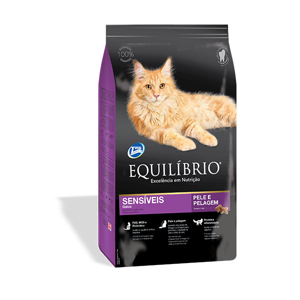 Equilibrio Sensitive τροφη για ευαισθητες γατες