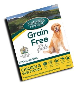 Natures Harvest grain free κονσερβα σκυλων με κοτοπουλο