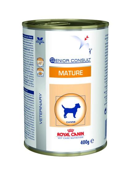 Royal Canin Senior Mature είναι τροφη κονσερβα ηλικιωμενου σκυλου