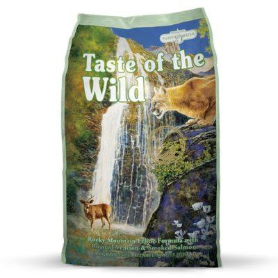 Taste of the Wild Rocky Mountain ξηρα τροφη γατας Grain Free με σολομο και ελαφι