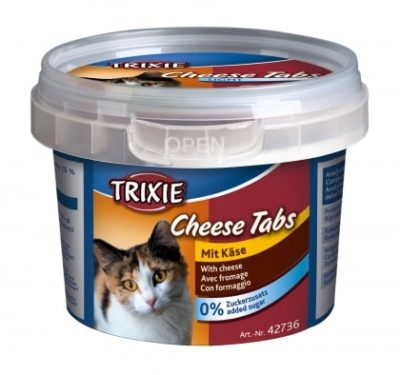 trixie cheese tabs snack σνακ για γατες με τυρι