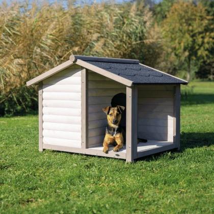 Trixie Lodge Natura ξυλινασπιτια για σκυλους με βεραντα
