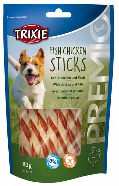 trixie snack fish chicken sticks σνακ σκυλων με κοτοπουλο ψαρι