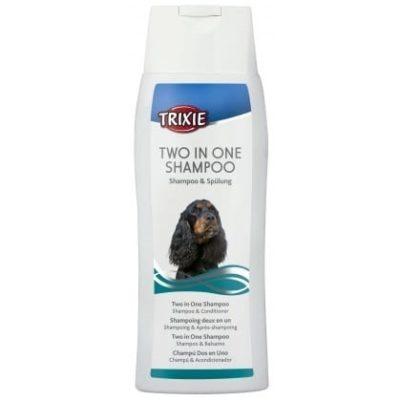 trixie 2 in 1 shampoo σαμπουαν σκυλων με conditioner