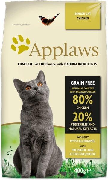 τροφη για ηλικιωμενη γατα Applaws Senior Grain Free