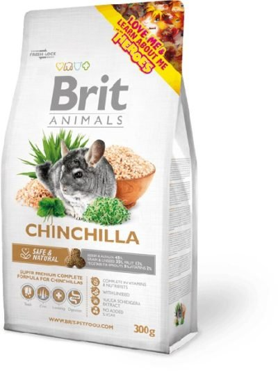 Brit Animals Chinchilla τροφη τσιντσιλα superpremium