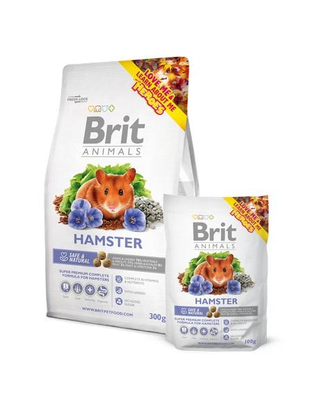 Superpremium τροφη χαμστερ Brit Animals Hamster