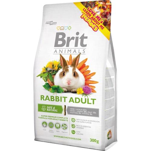 superpremium τροφη για κουνελια Brit Animals για ενηλικο κουνελι