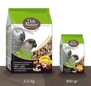 Superpremium τροφή για μικρούς παπαγάλους Deli Nature 5 Stars