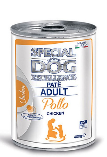 Monge Special Dog Excellence Pate with Chicken κονσερβα πατε ενηλικων σκυλων