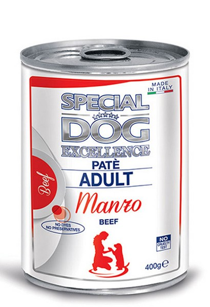 Monge Special Dog Excellence Pate with Beef κονσερβα πατε σκυλων με μοσχαρι