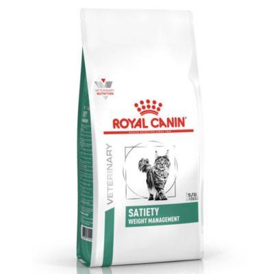 Satiety κλινικη διαιτα Royal Canin τροφη γατας για χασιμο η διατηρηση βαρους