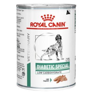 κλινικη διαιτα σκυλου κονσερβα για προβληματα διαβητη royal canin diabetic