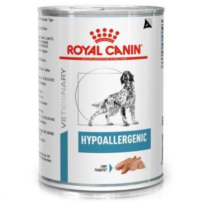royal canin hypoallergenic κονσερβα σκυλων κλινικη διαιτα για δυσανεξια