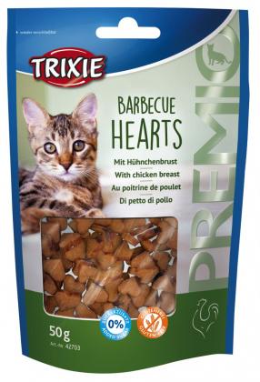 λιχουδια σνακ για γατα Trixie Barbecue Hearts με κοτοπουλο