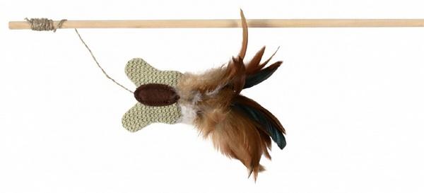 παιχνιδι για γατα trixie ραβδι με φτερο