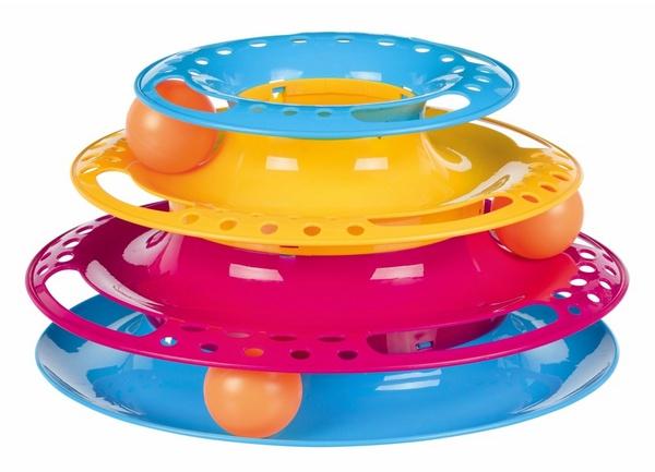 trixie catch the balls παιχνιδι για γατα κυκλικος πυργος