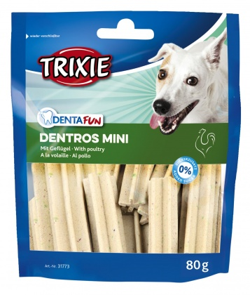σνακ για δοντια σκυλου Trixie Dentros mini