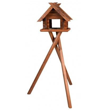 ξυλινη ταιστρα πουλιων με βαση Trixie Natura Bird